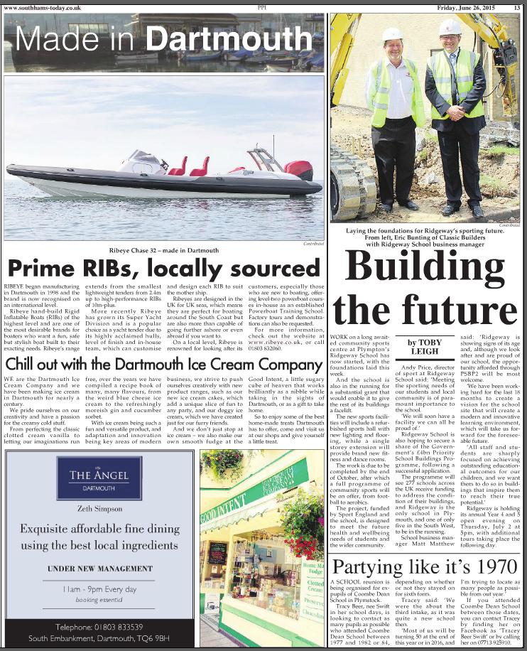 Building The Future At Ridgeway School, Plympton, Plymouth
