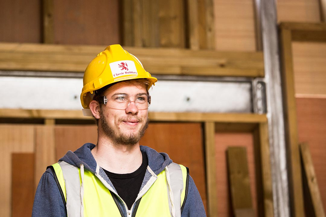 classic builders plymouth builder work experience luke in cornwall